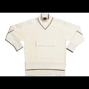Adidas x Ivy Park Womens Sweatshirt (Cream/Maroon)